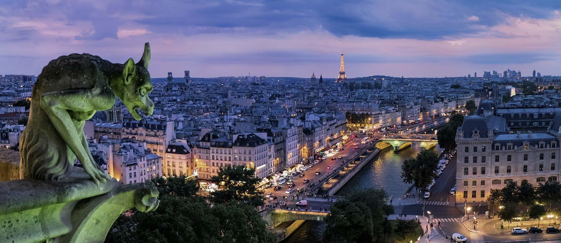 Ansicht von Paris